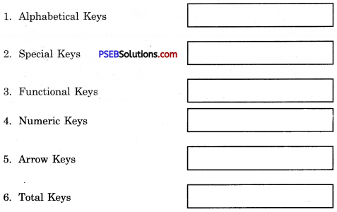 PSEB 6th Class Computer Solutions Chapter 7 Input Devices - 1