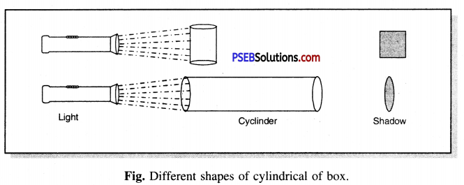 PSEB 6th Class Science Solutions Chapter 11 Light Shadows and Reflections 7