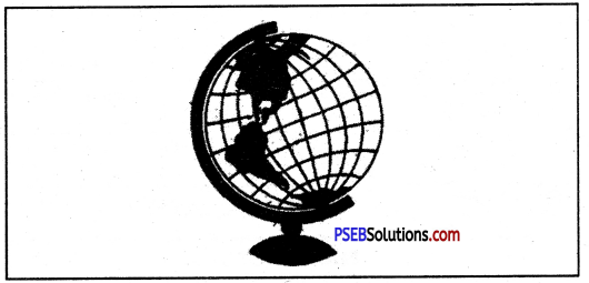 PSEB 6th Class Social Science Solutions Chapter 2 Globe - The Model of the Earth 1