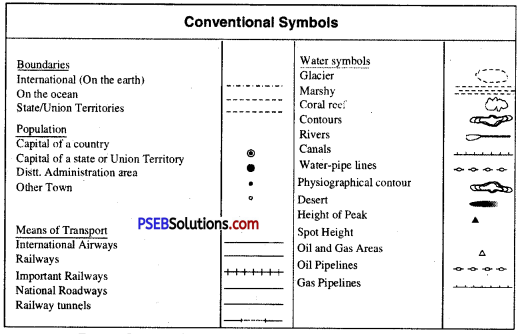 PSEB 6th Class Social Science Solutions Chapter 4 How Maps Help Us 1