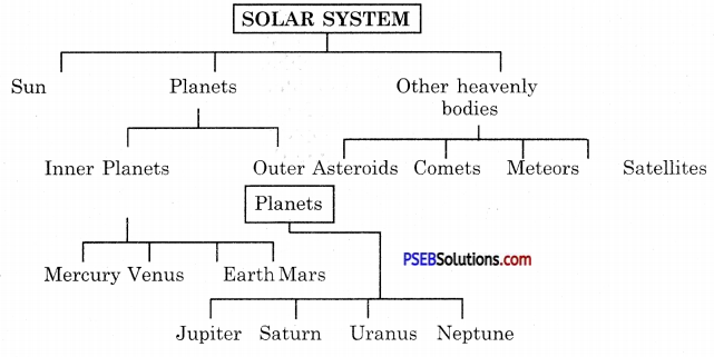 PSEB 8th Class Science Solutions Chapter 17 Stars and the Solar System 6