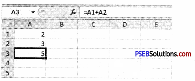 PSEB 9th Class Computer Solutions Chapter 1 MS Excel Part-I Img 10