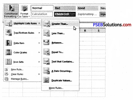 PSEB 9th Class Computer Solutions Chapter 1 MS Excel Part-I Img 5
