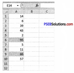 PSEB 9th Class Computer Solutions Chapter 1 MS Excel Part-I Img 7