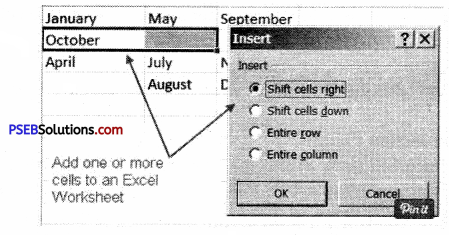 PSEB 9th Class Computer Solutions Chapter 1 MS Excel Part-I Img 9